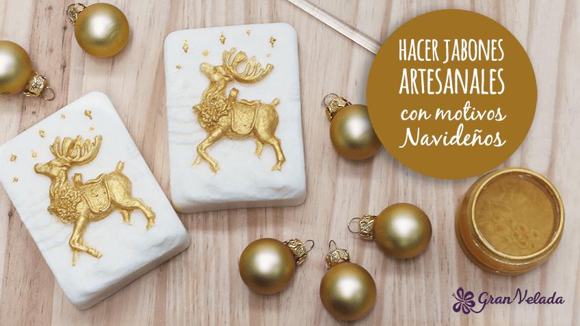 Aprende a hacer jabones artesanales con motivos navide os - Cajas con motivos navidenos ...