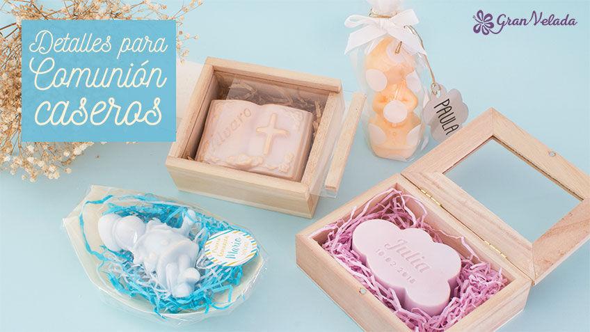 Detalles para comunion caseros personalizados de jabon - Detalles de comunion para hacer en casa ...